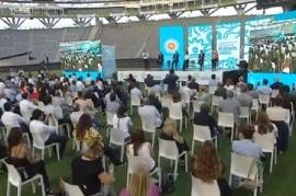 -EN VIVO- El presidente Fernández, Cristina, Kicillof y Massa encabezan un acto en La Plata