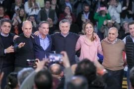 Las lágrimas formaron parte del cierre de campaña de Macri y Vidal en territorio bonaerense