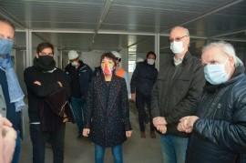 Directivo del Hospital Iriarte de Quilmes, con COVID-19: el viernes estuvieron ministros bonaerenses