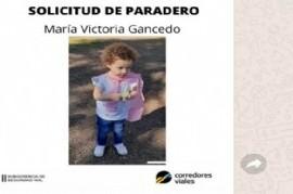 Gendarmería Nacional pidió colaboración urgente para dar con el paradero de una niña