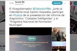 Al vicegobernador bonaerense Daniel Salvador le cambiaron de Granados: creyó estar con el intendente