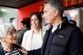 San Miguel: en el peor momento económico, Macri y Vidal volvieron a tocar el timbre a los vecinos