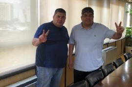 Fuerte respaldo de Pablo Moyano al secretario general de los Panaderos de Lanús, Gabriel Ruiz