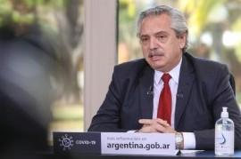"""Alberto Fernández: """"Los que gritan suelen no tener razón"""""""