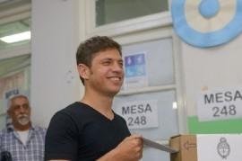 Elección a gobernador de la provincia de Buenos Aires: ya votaron Vidal y Kicillof