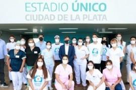 La Plata: por un partido de fútbol de Copa Argentina suspendieron la vacunación en el Estadio Único
