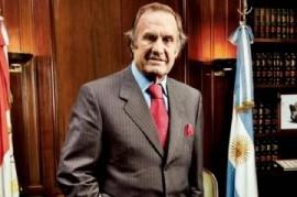 """Murió el """"Lole"""" Carlos Reutemann, actual senador nacional"""