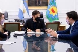 El ministro Trotta y el gobernador Kicilllof analizaron la intensificación de clases presenciales