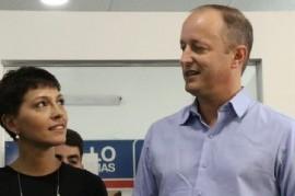La precandidata a intendente de Quilmes, Mayra Mendoza, invitada especial de Insaurralde en Lomas