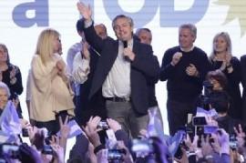 """Alberto Fernández y su primer mensaje como presidente electo: """"Haremos la Argentina que merecemos"""""""