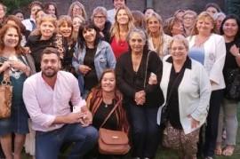 Por el Día de la Mujer, agasajaron en Hurlingham a representantes de varios sectores