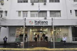 Alerta en el Hospital Italiano de La Plata: activaron el código máximo de protocolo anti COVID-19