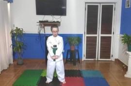 """De """"Búnker Lanús"""" a México: Tiziano, de 11 años, competirá de manera virtual en Para Taekwondo"""