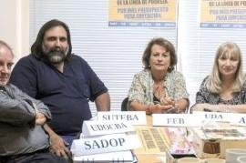 Sigue todo mal entre el Gobierno de Vidal y los docentes que, indignados, anunciaron paros