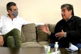 Gesto político de Randazzo: estuvo con un dirigente de La Plata que asoma como candidato a diputado