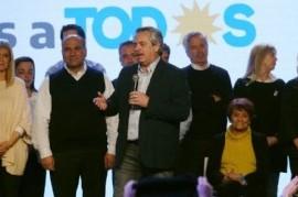 """Alberto Fernández, en su primer discurso tras vencer: """"Conmigo se terminan la grieta y la venganza"""""""