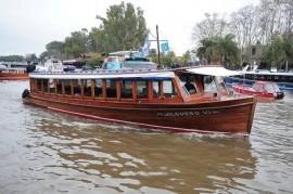 El Gobierno bonaerense autorizó la prestación de los servicios de transporte fluvial de pasajeros