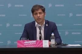 -EN VIVO-  Conferencia de prensa del gobernador Axel Kicillof