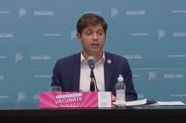 Las frases de Kicillof durante su conferencia en Gobernación