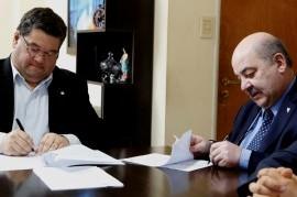 La Universidad Nacional de La Plata y Berisso acordaron crear un nuevo bosque