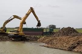 Mediante un Plan Quinquenal, el Gobierno bonaerense invertirá $ 600.000 millones en obras hídricas