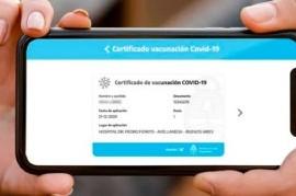 La credencial digital Mi Argentina será documento de vacunación que tendrá validez internacional