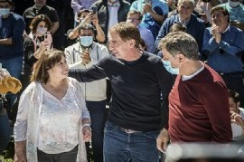 Con la dupla Santilli-Manes, Juntos relanzó su campaña bonaerense en el distrito de Sergio Massa